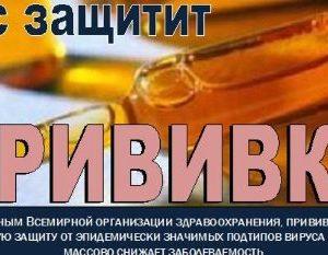 Итоги вакцинации против гриппа в 2018 году среди населения Сморгонского района