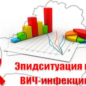 Эпидситуация по ВИЧ-инфекции в Республике Беларусь, Гродненской области на 1 июля 2019 года