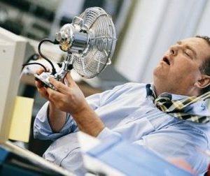 Соблюдение параметров микроклимата на рабочих местах летом