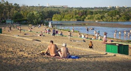 Где можно купаться в  Сморгони