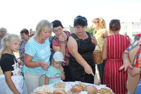 День здорового хлеба  в агрогородке Осиновщизна