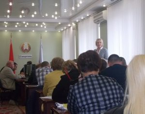 Семинар по вопросам подготовки к областному фестивалю-ярмарке «Дожинки – 2019» прошел в Сморгонском райисполкоме