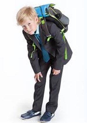 Как не испортить осанку ребенка рюкзаком или ранцем