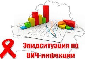 Эпидемиологическая ситуация по заболеваемости ВИЧ-инфекцией