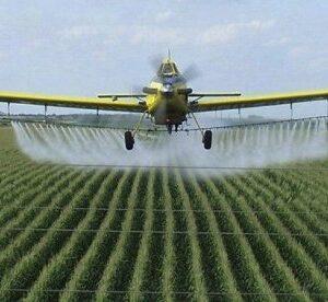Обработка сельскохозяйственных культур пестицидами