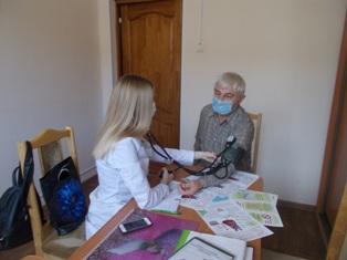 Акция «Цифры здоровья: артериальное давление» в Сморгонском зональном ЦГЭ