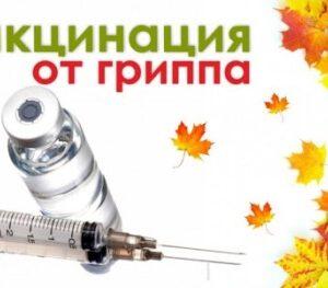 Вакцинация против гриппа завершена