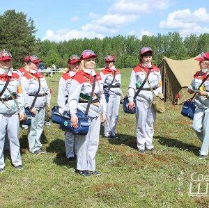 28 мая прошли соревнования санитарных дружин