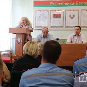 Районная акция «Сделай прививку – и живи без COYID-19»: встречи в трудовых коллективах продолжаются