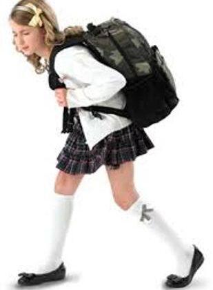Советы врача-гигиениста: как не испортить осанку ребенка рюкзаком?