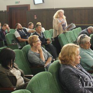 Вопрос  вакцинации от коронавирусной инфекции на заседании Сморгонского райисполкома